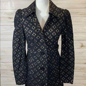 Lovely INC Black Lace jacket - Size M